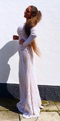 Dreamy paliet dress hvid