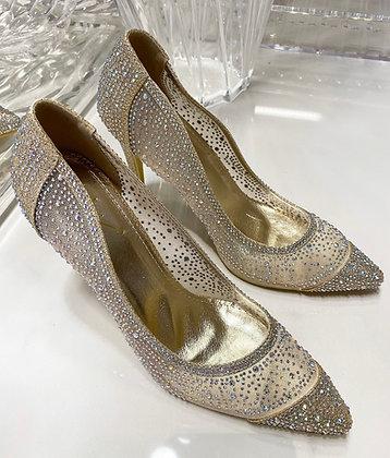 Diamond stiletter - gold