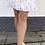 Thumbnail: Shiny gold nederdel - hvid