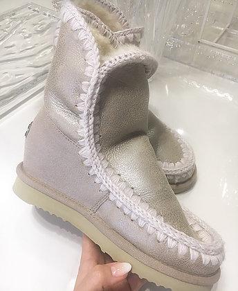 Mou Boots IntereskimoSho - Stone metallic