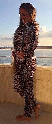 Leopard sæt med stripes