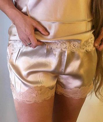 Gold Hawk shorts - Nude
