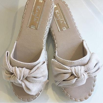 Beige sandal