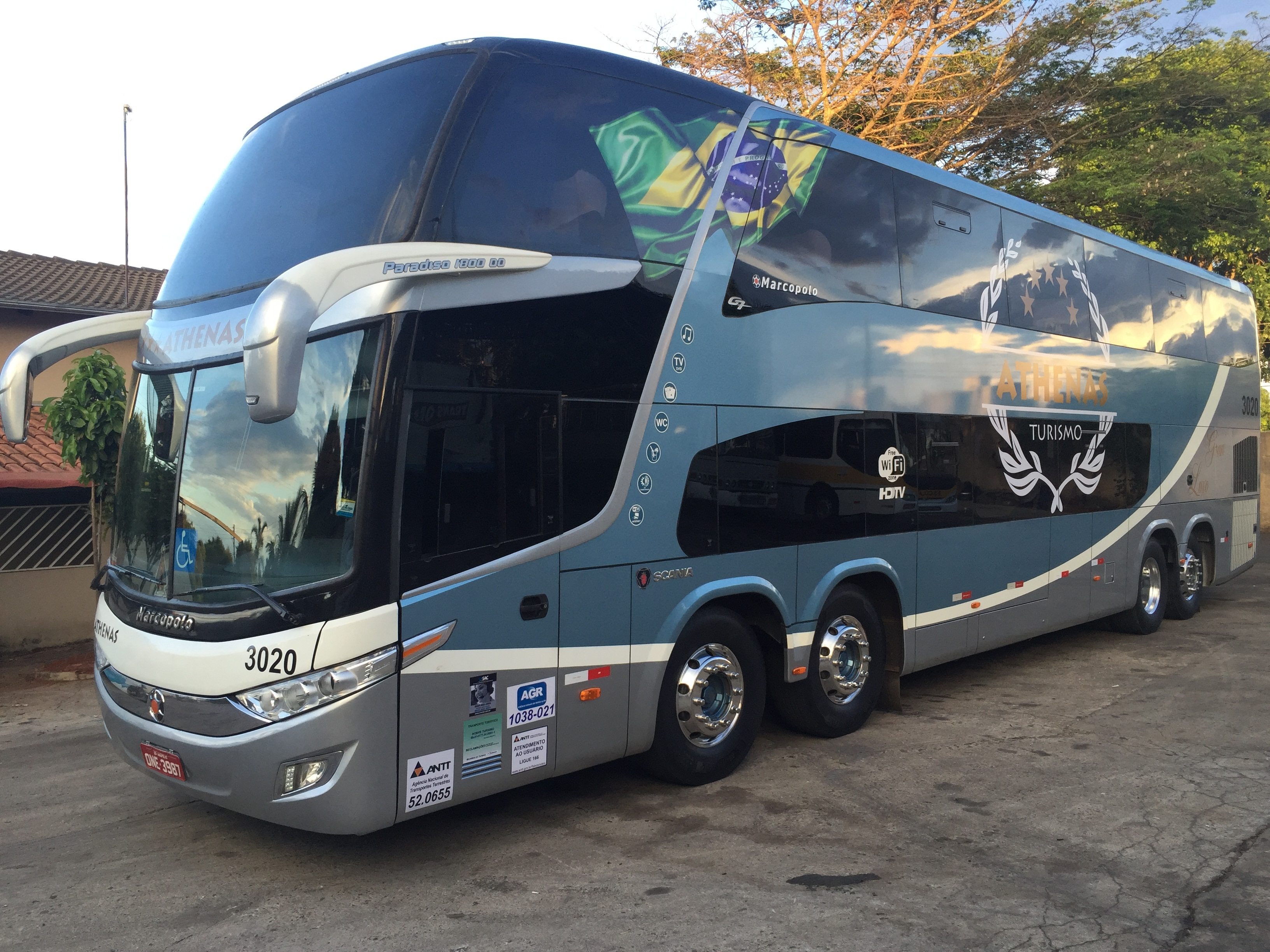 G7 Double Deck 4 Eixo Super Luxo