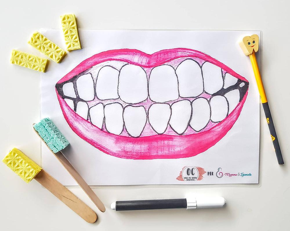 free pdf wash teeth for kids