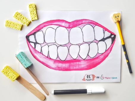 Igiene dentale divertente