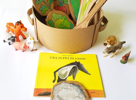Una Zuppa di sasso, lettura animata con cartone