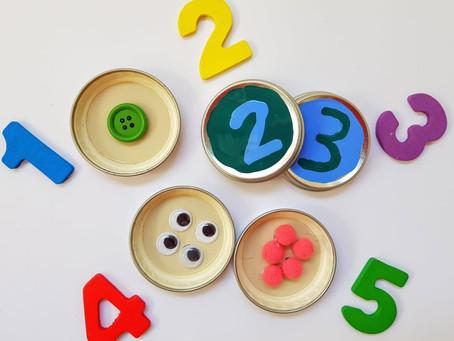 Apprendere numeri e quantità