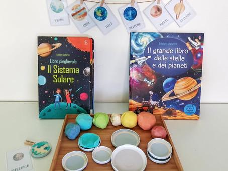 Carte dei pianeti per bambini