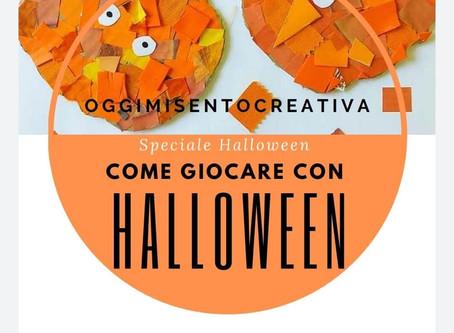 Raccolta di attività per bambini di Halloween