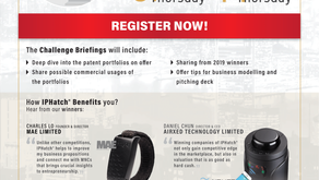 """Invitation to Startup competition - """"IPHatch Hong Kong"""""""