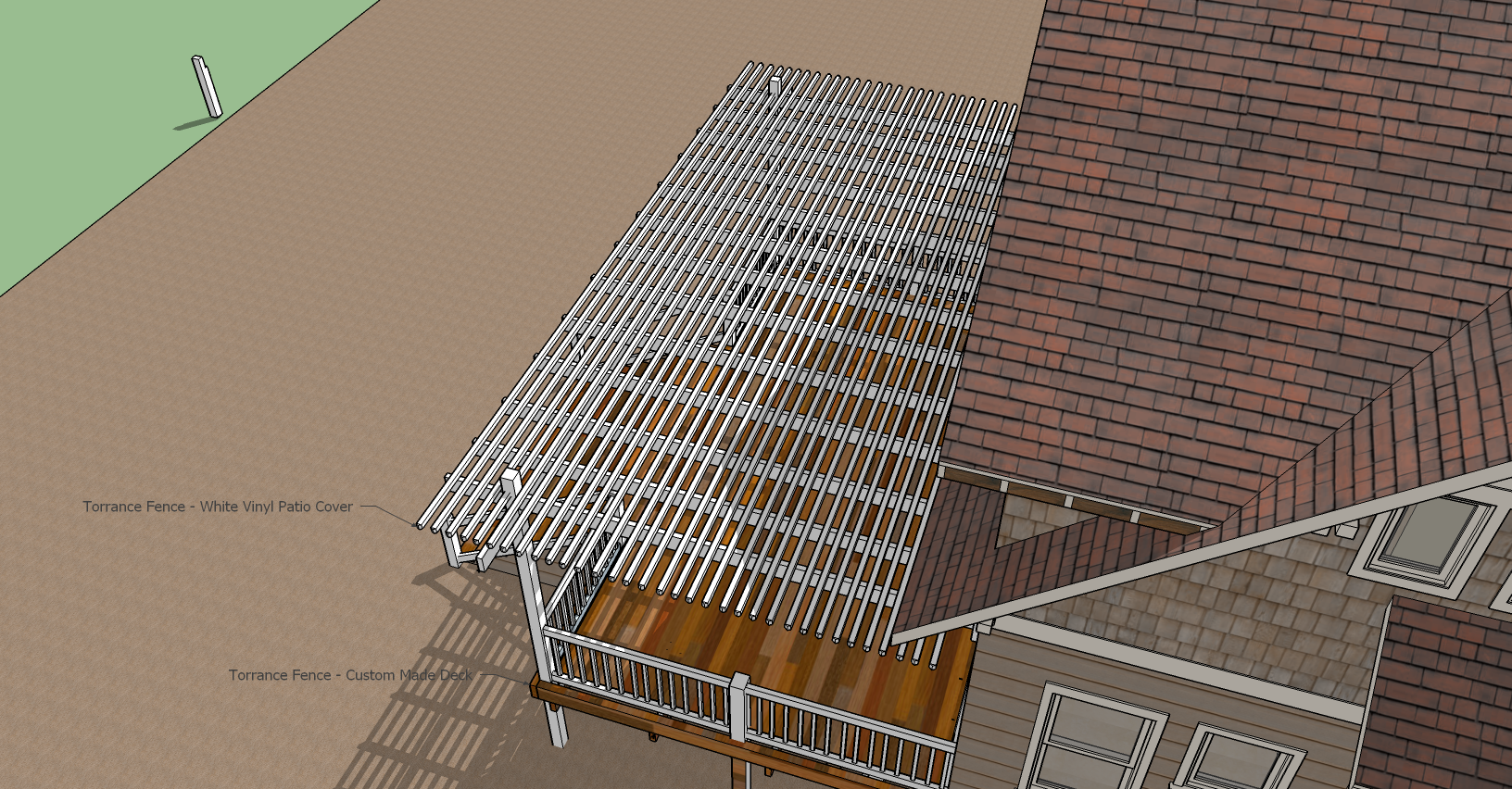 Top View Patio - Deck