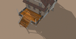 2D Deck top view