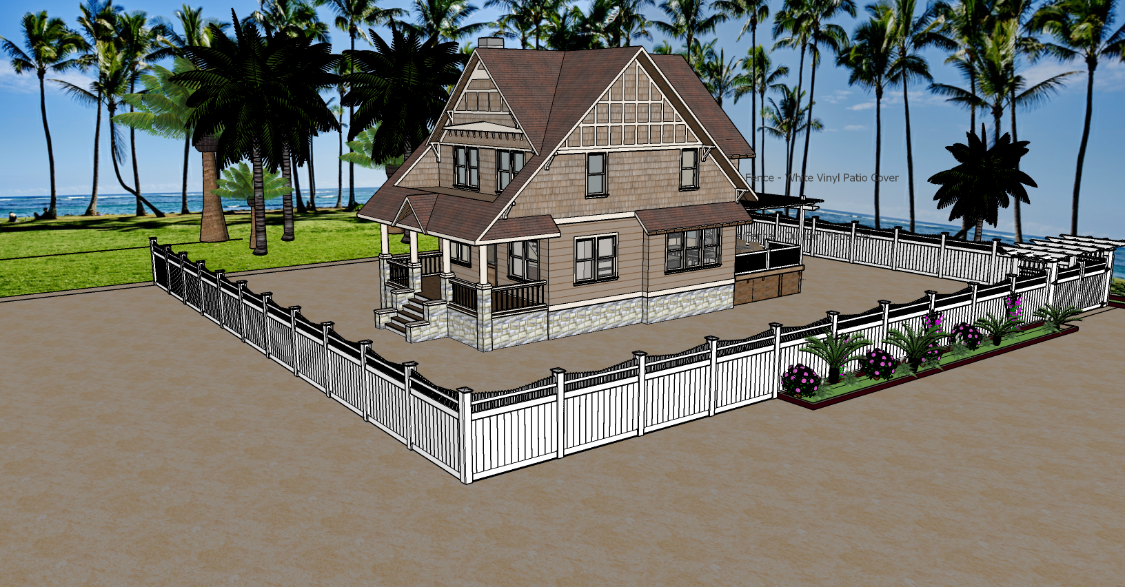 Your House - 3D Designed Landscaping and Fencing by Torrance Fence