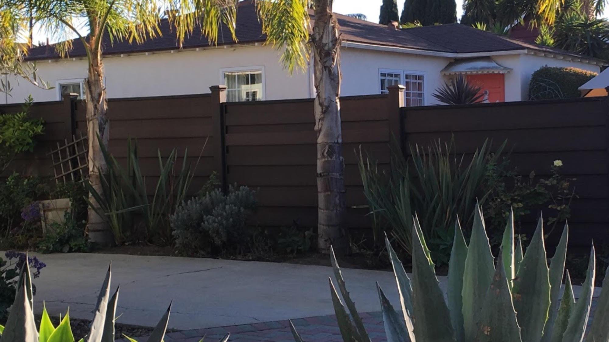 trex horizontal fence