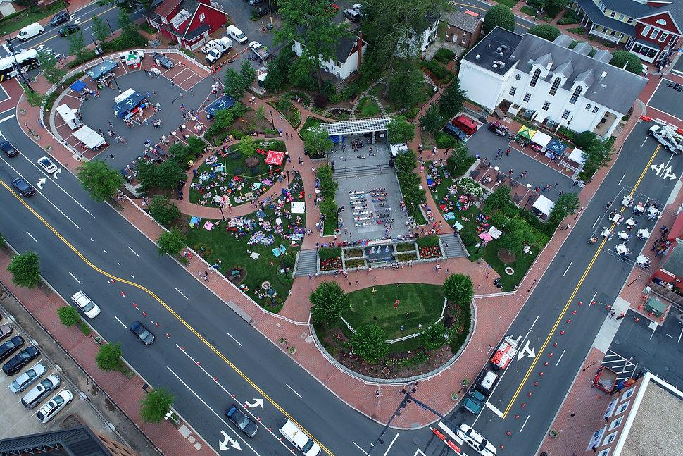 Fairfax City - Old Town Square.JPG