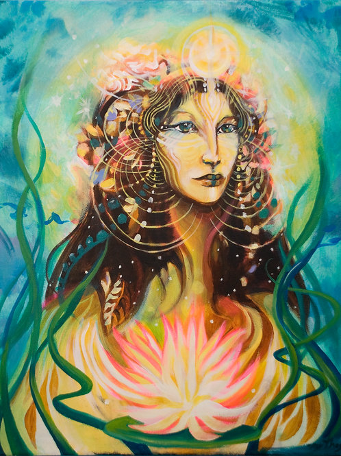 Lotus Lady
