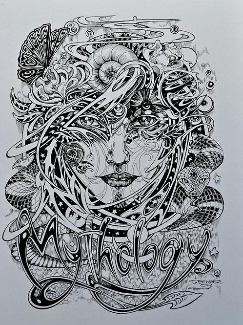 Mythology (Coloring Book)