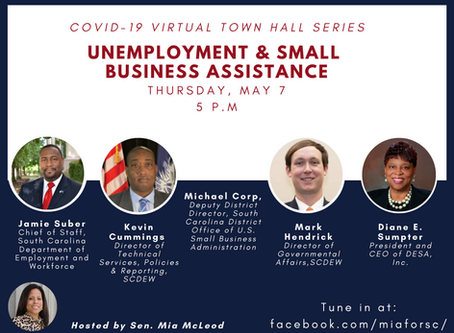 COVID-19 Virtual Town Hall Series: Unemployment & Small Business Assistance