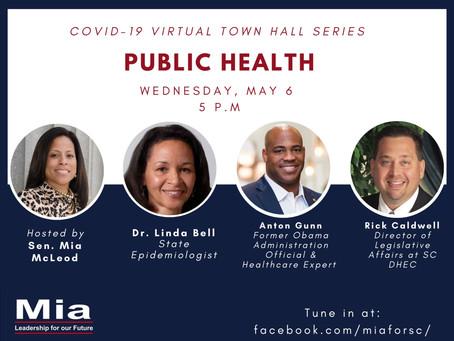 COVID-19 Virtual Town Hall Series: Public Health