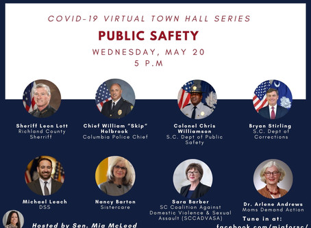 Join us for a Public Safety Virtual Town Hall tomorrow!