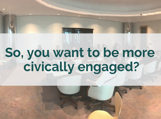 So, you want to be more civically engaged?