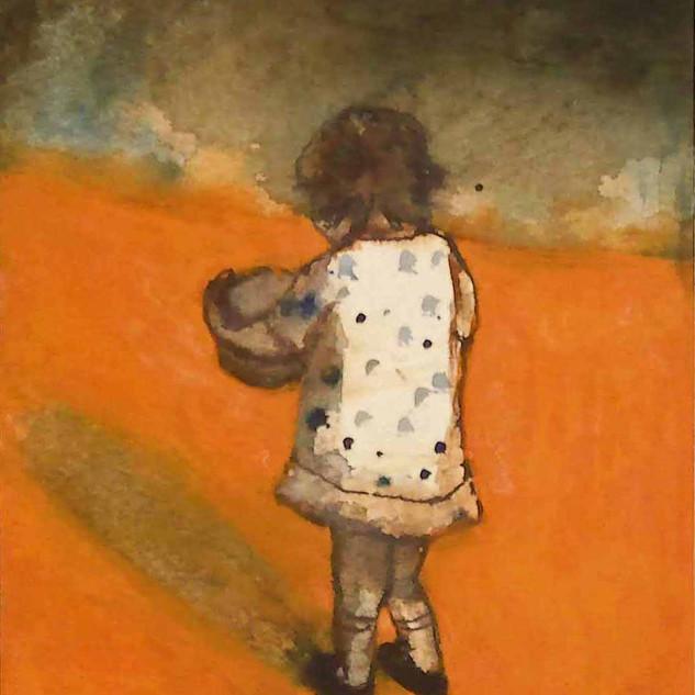 aquarel 18x24cm, sold