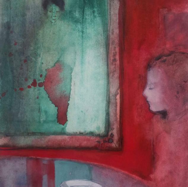 Watercolor 24x30cm,sold