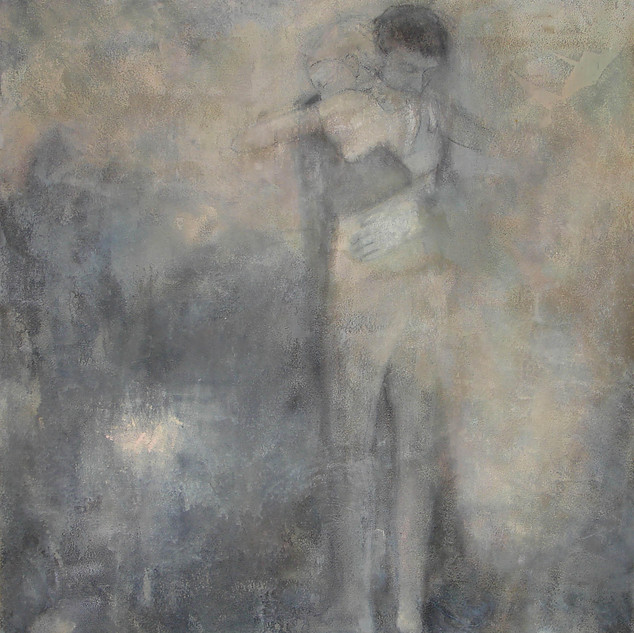 Oil painting 140x160cm, sold