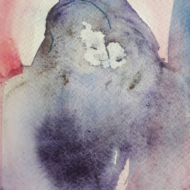 Watercolor,sold
