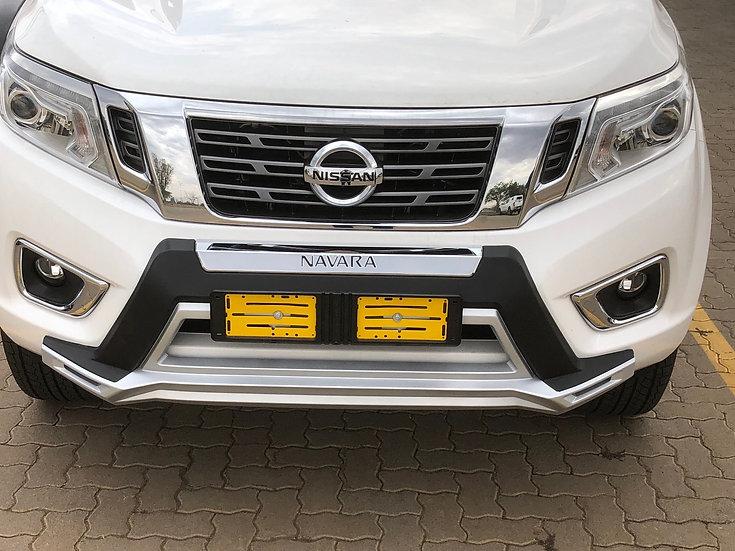 Front Over Bumper - Nissan Navara