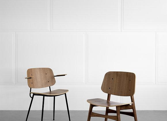 Søborg Metal Base armchair
