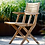 Thumbnail: Flip klapstol med armlæn