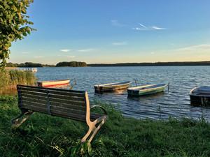 Ansicht des Useriner Sees