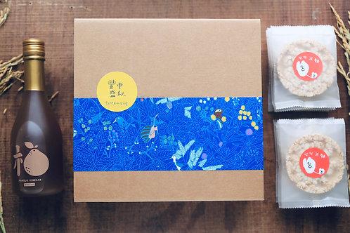 中秋禮盒預購-柚子醋/米餅組合