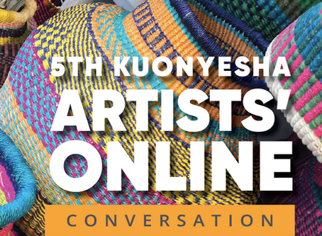 5th Kuonyesha Artists' Online Conversation