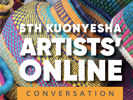 5th Kuonyesha Artists' Online Conversation