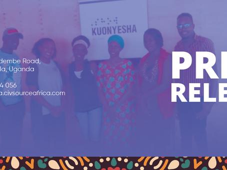 Kuonyesha ArtFund Press release