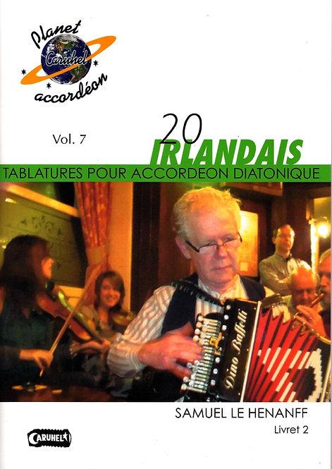 20 Morceaux irlandais Livret 2