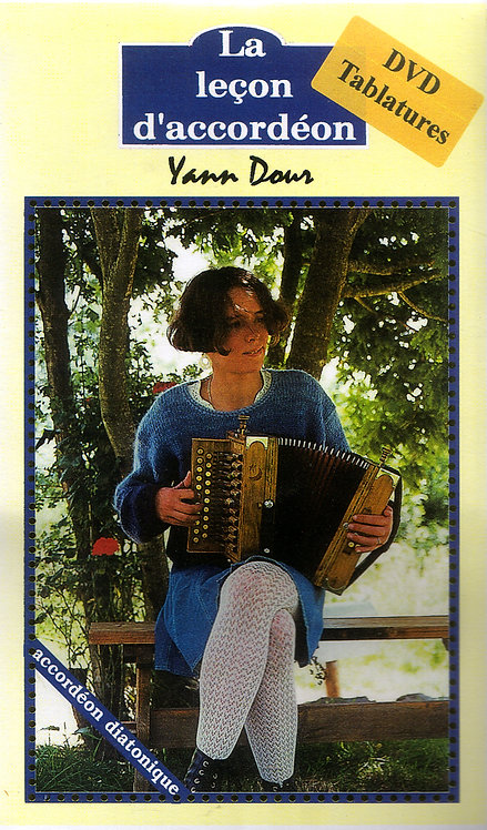 "DVD ""la leçon d'accordéon"""