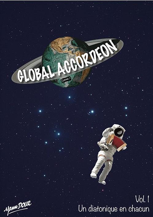 """Global accordéon - vol. 1 """"Un diatonique en chacun"""""""