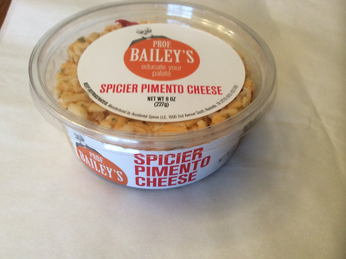 Prof. Bailey's Spicier Pimento Cheese