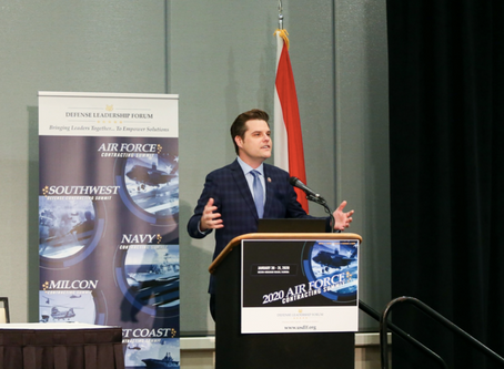 The Destin Log: Gaetz has vision for technology park outside gates of Eglin AFB