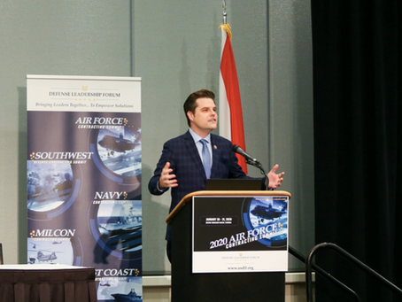 The Destin Log: Gaetz has vision for technology park outside gates of Eglin AFB