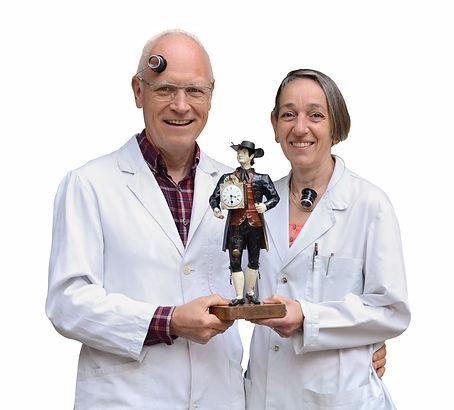 Uhrmacher Brigitte und Albert Kaegi