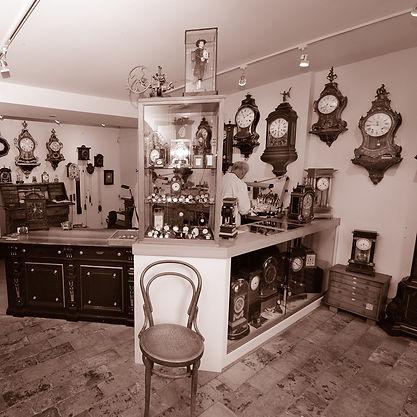 Verkauf antiker Uhren