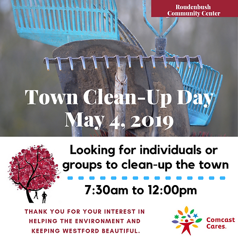 Annual WESTFORD Clean Up Day