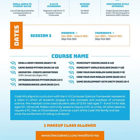 Online Coding Classes - Session 3