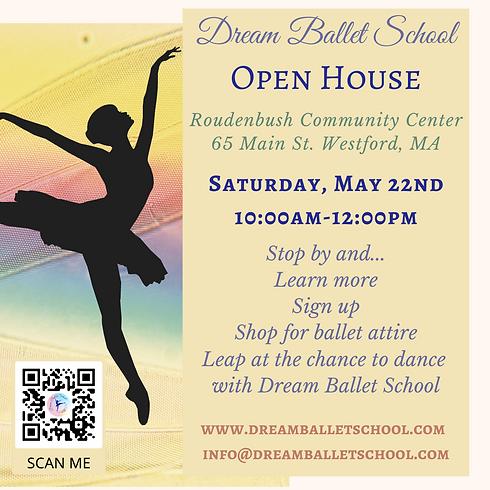 Dream Ballet Open House