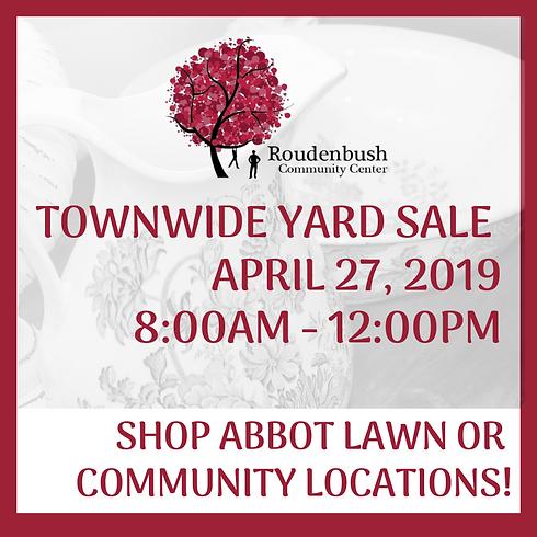 Spring '19 Town-Wide Yard Sale